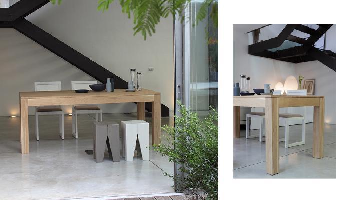 Tavoli in legno massiccio arredamenti eliomobili s r l - Tavoli in legno massiccio ...